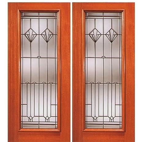 Mahogany Artistic Glass Door N Series-2 - AAW Doors Inc. & Mahogany Artistic Glass Door N Series-2 - AAW Doors Inc ... Pezcame.Com