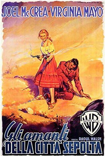 Colorado territory Joel McCrea vintage movie poster print