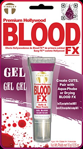 Tinsley Transfers FX Drying Gel Fake Blood, Red ()