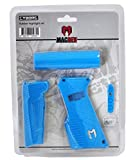 MacDev Clone 5 / Cyborg 6 Paintball Gun Rubber Accent Upgrade Sets - Aqua Blue