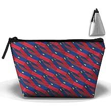 Liechtenstein Flag 3D Art Pattern Pencil Case Stationery Bag Cosmetic Bag Cosmetic Bag Storage Bag