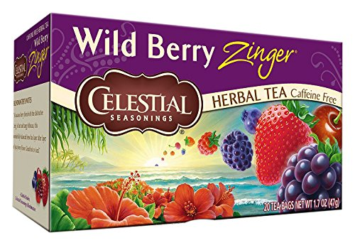 (Celestial Seasonings Wild Berry Zinger Tea Bags - 20 ct)
