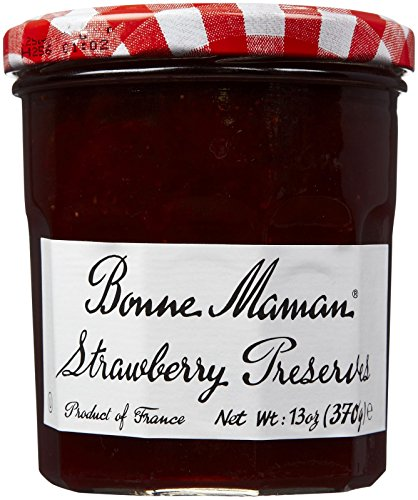 Wright Strawberry - Bonne Maman Preserve, Strawberry, 13-Ounce
