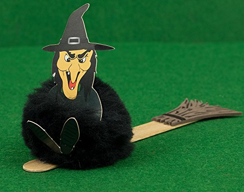 Bespoke by Crafty Capers Spooky Witch Halloween Bookmark littlecraftybug Craft Kit for 10 Kids
