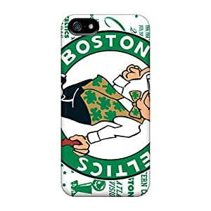 Hot New Boston Celtics Case Cover For Iphone 5/5s With Perfect Design