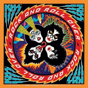 Amazon.com: Kiss Rock Music Band Sticker - Rock and Roll Over ...