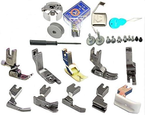 Pies prensadores, agujas, bobinas y tornillos para máquina de ...