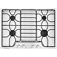 Frigidaire 30 White Gas Cooktop with 4 Sealed Burners FFGC3010QW