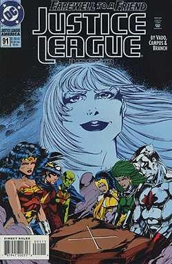 Justice League America #91 (91 America League Justice)