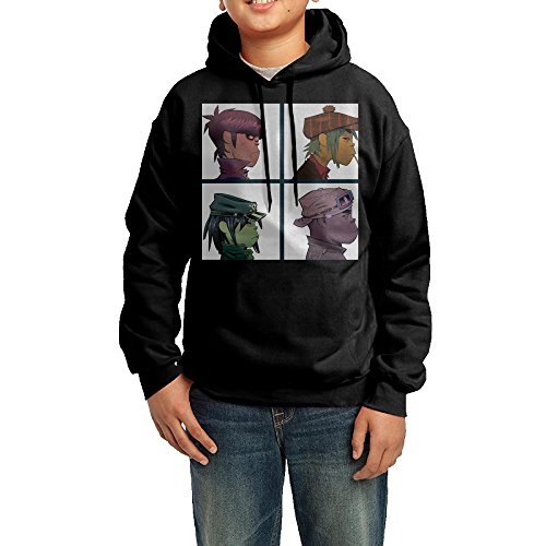 Price comparison product image Gorillaz Demon Days The Fall Plastic Beach Youth Hoodies Pullover