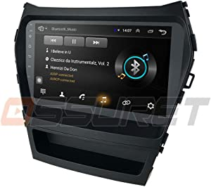 "Android 9.0 Car Stereo for Hyundai Santa Fe IX45 2013 2014 2015 2016 2017 Radio with 9"" Screen & GPS Navigation & 1GB Ram 16 GB ROM Head Unit"