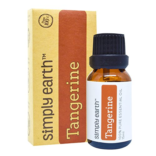 Tangerine Essential Oil by Simply Earth - 15 ml, 100% Pure Therapeutic Grade (Natural Scotch Guard compare prices)