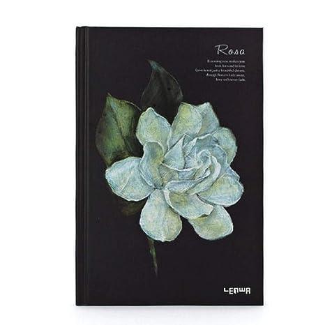 BJBCH Cuaderno De Cuentos De Flores Cuaderno De Tapa Dura A5 ...
