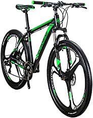 SD X9 Adult Mountain Bike Aluminum Frame Bicycle 29 Inch 3 Spoke Mag Wheel Disc Brake 21 Gears System Men MTB