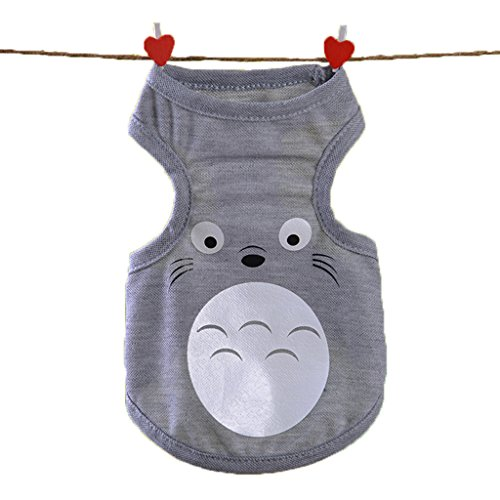 Alkem Halloween Party Poodle Chihuahua Dog Cat Totoro Cosplay Costume Apperal(Totoro, large)
