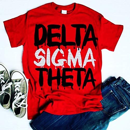 Delta Sigma Theta Drip Shirt Unisex Tee Classic Fit