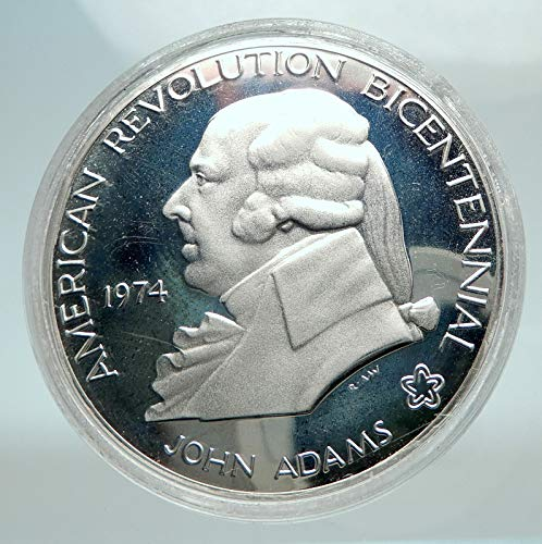 1974 unknown 1974 US President JOHN ADAMS 200 First Continenta coin Good