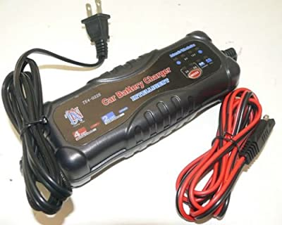 MultiPurose 6V and 12V Intelligent Battery Charger - 2AMP Slow Charge/4AMP
