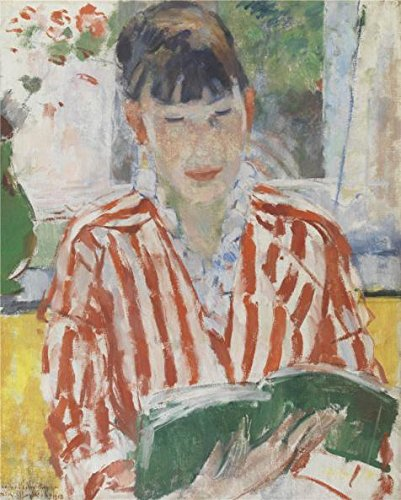 Oil Painting 'Rik Wouters - Woman Reading, 1913', 16 x 20 inch / 41 x 51 cm , on High Definition HD canvas prints is for Gifts And Foyer, Garage And Study Room Decoration, my