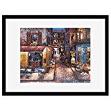 """MCS 65744 Puzzle Frame with Black Finish for Puzzle Sizes 20""""x27"""" & Smaller"""