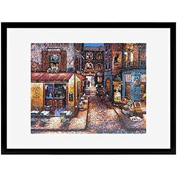 mcs 20x27 inch puzzle frame for puzzle sizes 20 x 27 smaller black 65744. Black Bedroom Furniture Sets. Home Design Ideas