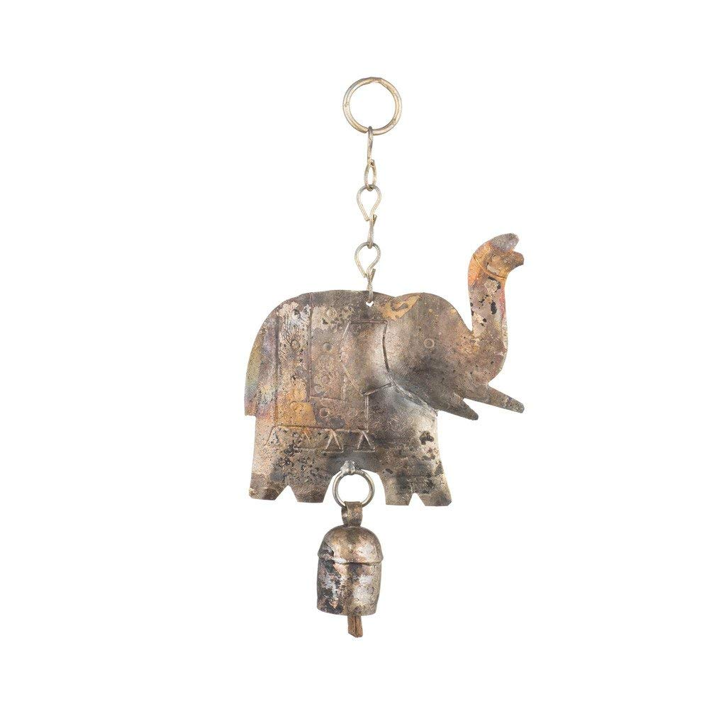 Matr Boomie (Bell) Hanging Elephant with Bell