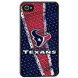 Team ProMark KIPH4FHOUST1 Hard Case for iPhone 4 - 1 Pack - Retail Packaging - Houston Texans