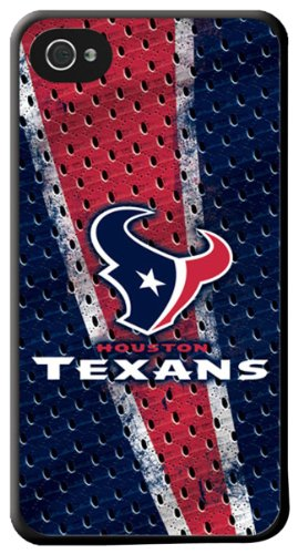 OUST1 Hard Case for iPhone 4 - 1 Pack - Retail Packaging - Houston Texans ()