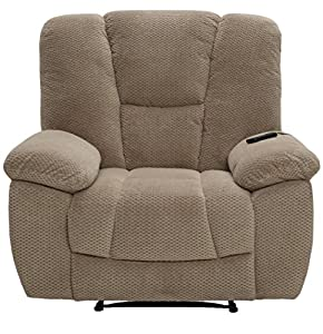 Serta Big u0026 Tall Memory Foam Massage Recliner with USB Charging Beige  sc 1 st  Amazon.com & Amazon.com: Serta Big u0026 Tall Memory Foam Massage Recliner with USB ... islam-shia.org