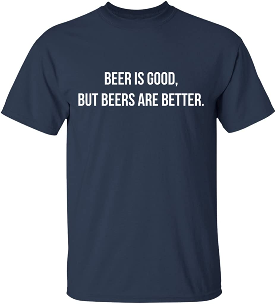 The Beers Funny Band Graphic Novelty Music Short Sleeve T-Shirt Tees Tshirts