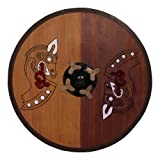 Armor Venue Viking Wooden Shield W/Horse - Brown - One Size Fit Most Armour