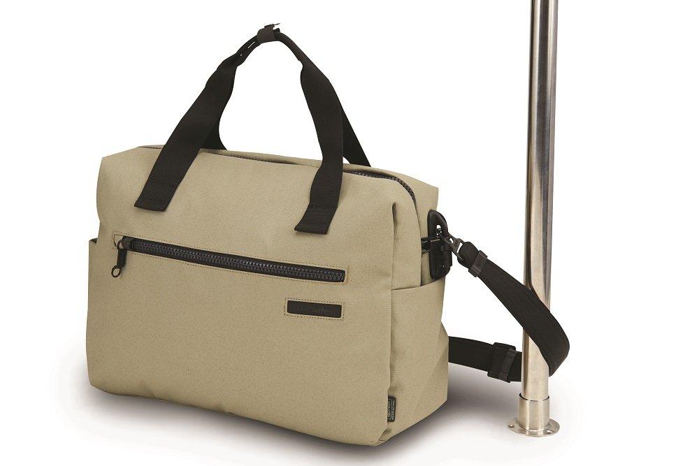 Pacsafe Intasafe Z400 Anti-Theft Shoulder Bag, Charcoal 25160104