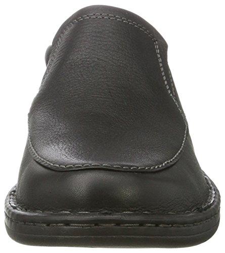 Mocassini Clarks Uomo Kyros Black Free Tumbled Nero Leather 1EUznEqR