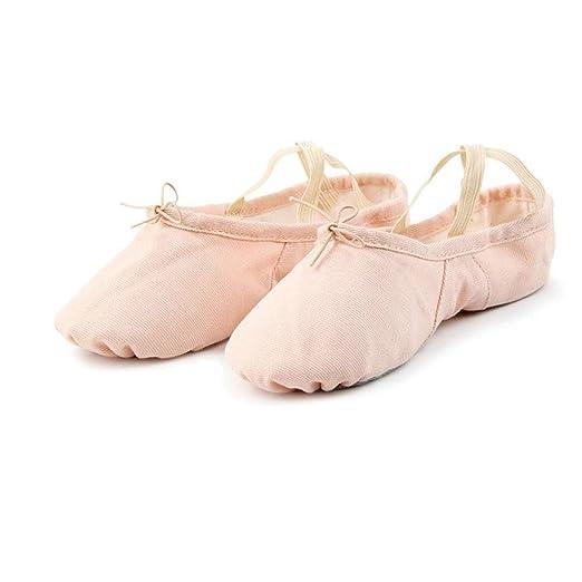 Amazon.com  Ballet Shoes Canvas Ballet Slipper Yoga Dance Shoe ...