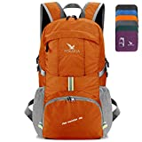 POKARLA 35L Foldable Durable Backpack Travel Hiking Daypack Ultra Lightweight Packable Carry On