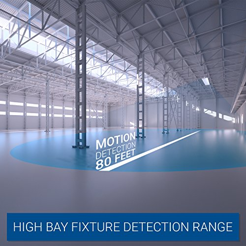 Hyperikon LED High Bay Light Fixture, Motion Sensor Included, 165W (500W Equivalent), 22000 Lumen, 5000K Indoor Area Warehouse Industrial Lighting, DLC and UL by Hyperikon (Image #3)