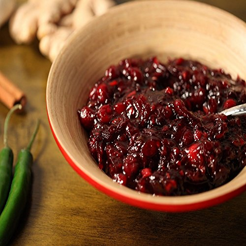 CRANBERRY CHUTNEY FRAGRANCE OIL - 4 OZ - FOR CANDLE & SOAP MAKING BY VIRGINIA CANDLE SUPPLY - FREE S&H IN USA