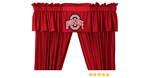 "NCAA Oklahoma State OSU Handmade Window Curtain Valance 41/"" W x 13/"" L"