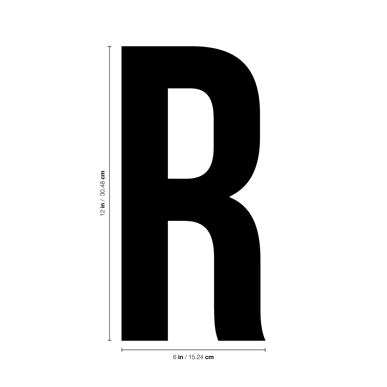 Amazon.com: Vinilo adhesivo de pared – Gran alfabeto letras ...
