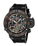Invicta Men's 22921 Subaqua Quartz Chronograph Black, Rose Gold Dial Watch