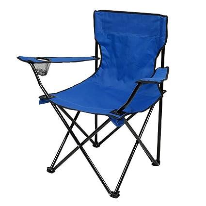 Amazon.com: YAXUAN Sillas de Camping Plegables, Cómodas ...