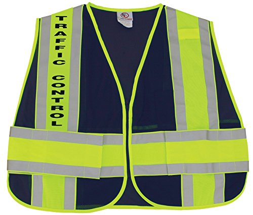 First Class Reflective Duty Vest-Traffic Control ID/Large/XL by First Class