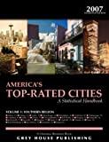 America's Top-Rated Cities 2007, Grey House Publishing Staff, 1592371841