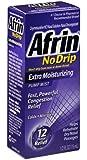 Afrin No Drip Pump Mist, Extra Moisturizing 15 mL (Pack of 6)