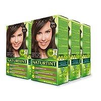 Naturtint Permanent Hair Color 4N Natural Chestnut (Pack of 6), Ammonia Free, Vegan...