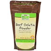 Beef Gelatin Powder by NOW - 1 lb