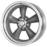 rims for 1991 chevy s10 - American Racing Vintage Classic Torq Thrust II 17 Gray Wheel / Rim 5x4.75 with a 8mm Offset and a 83.06 Hub Bore. Partnumber VN21579562