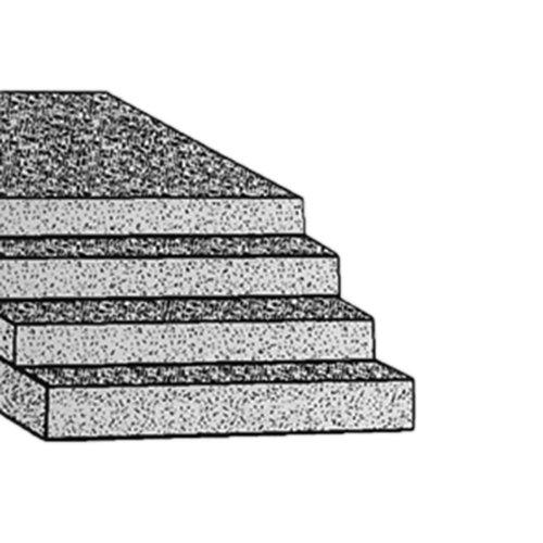 Thomafluid Zellkautschuk-Platte aus NBR - Shore 15°, Stärke: 2 mm, Toleranz: ±0,5 mm, Abmessung: 650 x 950 mm RCT Reichelt Chemietechnik