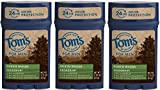 Tom's of Maine 24-Hour Men's Long Lasting Natural Deodorant Multi Pack, Deodorant for Men, Natural Deodorant, North Woods, 2.25 Ounce, 3-Pack