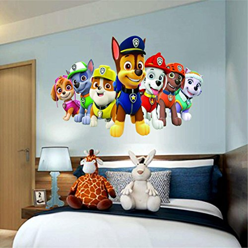Paw Patrol Window View Decal Wall Sticker Home Decor Art Mural 18 24 36 Or 52 7
